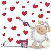 Artist Sheep — Vecteur