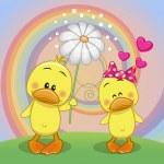 Two Ducks — Stock Vector #69496949