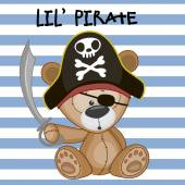 Mały pirat — Wektor stockowy