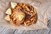 Fish and Chips. — Stock Photo