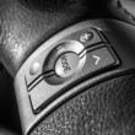 Car audio control buttons — Stock Photo #61569547