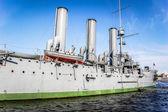 有名な巡洋艦オーロラ — ストック写真