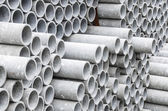 Close up of asbestos pipes — Stock Photo