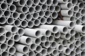 Concrete pipe background — Stock Photo