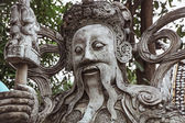 Wood Carving Art at The Sanctuary of Truth — Stock Photo