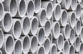 Asbestos pipes background — Stock Photo