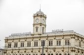 Leningrad railway station — Stock Photo