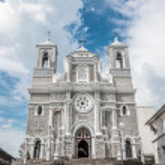 Catholic church with towers in Sri Lanka — Stock Photo #66681685