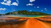 Grand Prismatic Spring in Yellowstone National Park — Stock Photo