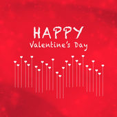 Valentine Hearts Abstract Background. St.Valentine's Day Wallpaper. Heart Holiday concept card — Foto de Stock