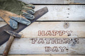 Fathers day concept, Handyman tools, diy concept — Stock Photo
