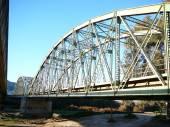 Railway bridge — Zdjęcie stockowe