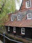 Historic building in Goslar, Northern Germany — Stock Photo