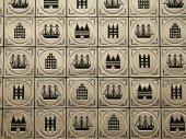 Wall tiles — Stock Photo