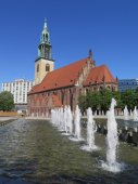 St Marys Church, Berlin — Stock Photo