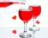 赤い梅酒 — ストック写真