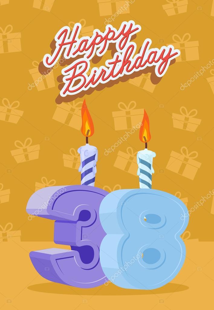 День рождения 38 лет картинки