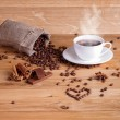 I love fresh coffee. — Stock Photo #63389131