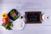 Atkins diet — Stock Photo