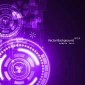 Abstrait de la technologie — Vecteur