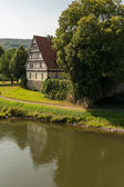 Rathaus in Gieselwerder on the Weser — Stock Photo