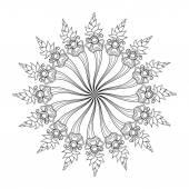 漂亮的装饰圈 — 图库矢量图片