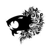 Vector Logo Lion Head — Wektor stockowy