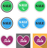 Sale signs — Stock Photo