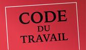 Code du travail — Stock Vector