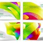 Modern Business Card Set — Stock Vector #73203927