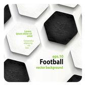 Football (soccer) background — Stockvector