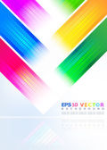 Abstract background of colored stripes — Stock Vector