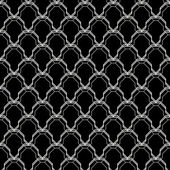 Seamless geometric ornament pattern — Stock Vector