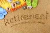 Retirement — Stock Photo