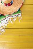 Mexican background with copyspace — Stock Photo