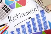 Retirement plan — Stock Photo