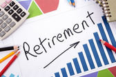 Retirement planning — Stock Photo