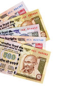 Indian Rupee currency bills  — Stock Photo