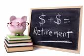 Salvadanaio con formula di pensione — Foto Stock