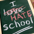 I hate school — Stock Photo #79949792
