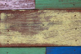 Detail of abstract art color wood wall  — Stockfoto