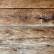 Texture of old wall wood gnarl brown color — Stock Photo #62395497