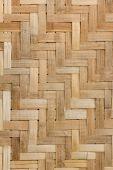 Texture of bamboo Weave — Stock fotografie
