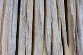 Texture old groove timber — Stock Photo