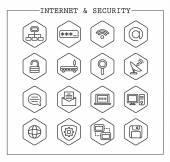 Web Icons  Basics — Stock Vector