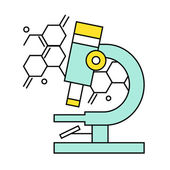 Research and Science Harmony series icons. — Stock Vector