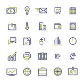 Set of business icons for internet marketing and services — Stock Vector