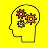 Brainstorming Flat style vector illustration — Stock Vector
