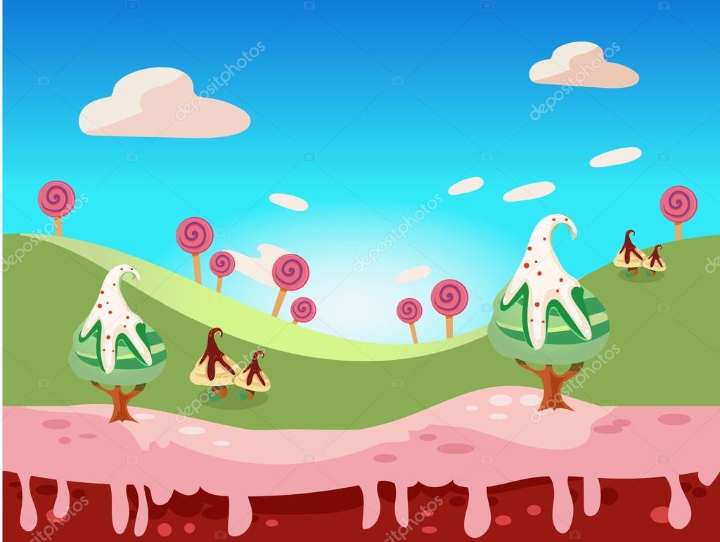 糖果土地矢量 — 图库矢量图像08