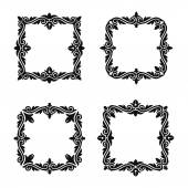 Vector decorative frames sets 2 — Stockvector